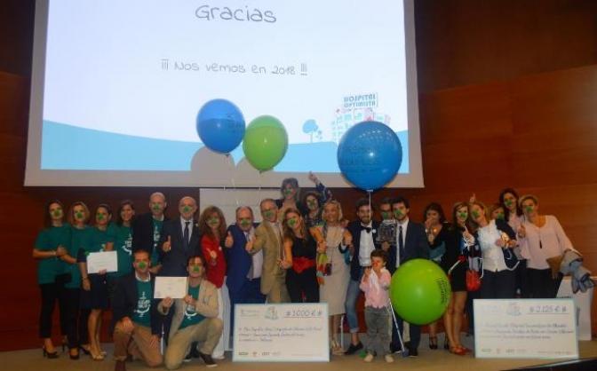 Los Premios Hospital Optimista reconocen la labor de los hospitales de Albacete, Hellín y Talavera