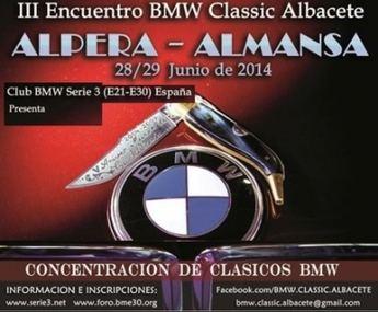 III Encuentro BMW Classic Albacete en la localidad de Alpera este fin de semana