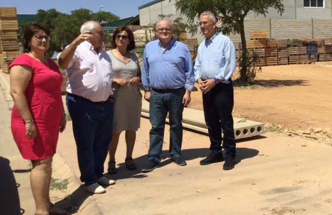 Junta y Ayuntamiento de Balazote analizan las posibilidades de la ampliación del polígono agroindustrial