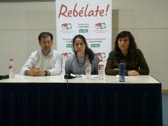 Lara Hernández, candidata de IU a las europeas, habló de la situación actual en Albacete