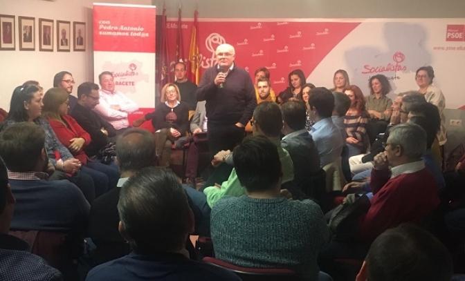 Ruiz Santos no para en su carrera por la secretaria general del PSOE de Albacete y se centra en la política municipal