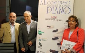 El XII Concurso de Piano de la Diputación se celebrará los próximos días 15 y 16 de Mayo, con 29 participantes