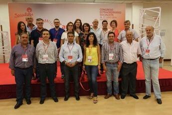 Los delegados de Albacete, en la jornada de apertura del Congreso Extraordinario de PSOE