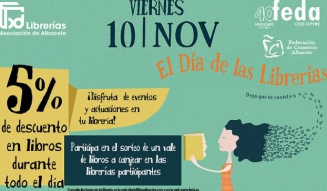 Librerías y papelerías de Albacete celebrarán el próximo viernes el Día de las Librerías