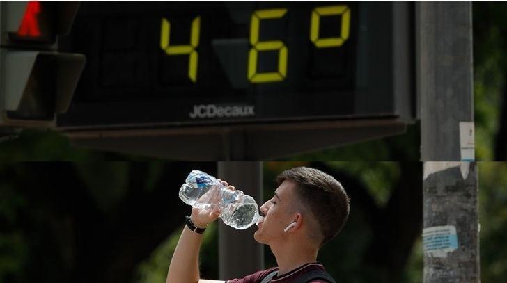 La AEMET prevé que el sábado sea el peor de la ola de calor y uno de los más calurosos de los últimos años