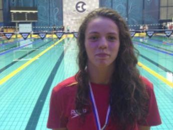 La nadadora del CN Albacete Nerea Ibáñez consigue dos medallas en Rusia