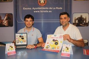 Este fin de semana se celebra la edición XVII del Torneo de Minibasket 'Villa de La Roda'