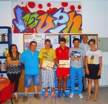 Entregado el premio del eslogan de la Campaña de Verano del PMD de La Roda