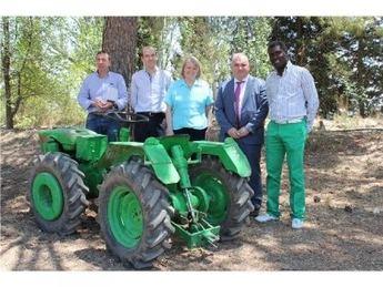 El ITAP pone a disposición de Medicus Mundi una escuela agrícola, maquinaria y huertos para el cultivo de productos de autoconsumo