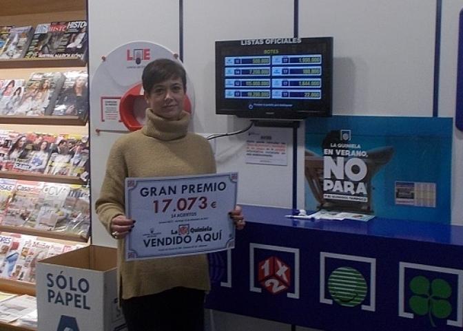Un boleto de la quiniela de 14 aciertos premiado con más de 17.000 euros, en la calle Santa Quiteria de Albacete