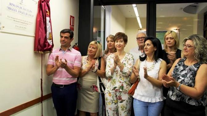 Inaugurado el 'Rincón de Lectura Miguel Ángel Blanco' en Albacete