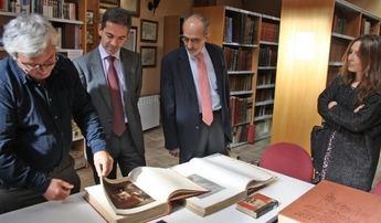 El director general de Cultura de la JCCM visitó el Centro Cervantino de La Roda
