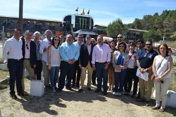 """Marín alaba el 'éxito' del Campeonato Mundial de Motocross celebrado en Talavera, 'epicentro mundial del motor"""""""