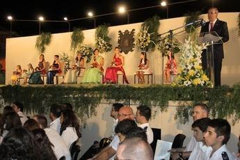 Este sábado se celebra el acto de presentación de la Reina y Damas de las Fiestas Patronales 2014