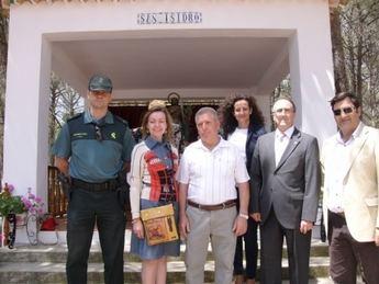 Visita del subdelegado del Gobierno a Tarazona en la festividad de San Isidro