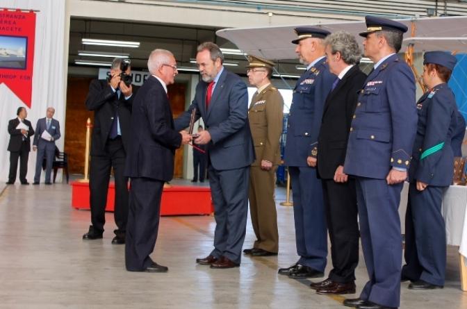 La Maestranza Aérea de Albacete conmemora el 74 aniversario