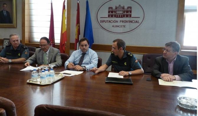 La Diputación de Albacete aportará 150.000 euros para obras en cuarteles de la Guardia Civil de la provincia