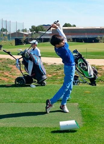 Álvaro Calero Campillo Campeón de Castilla-La Mancha de golf