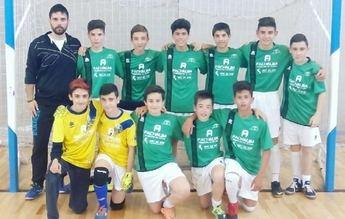 Notable éxito del equipo infantil de fútbol sala de la AV Villacerrada