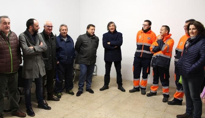 """El alcalde de Albacete resalta el """"esfuerzo y sacrificio"""" de los trabajadores de Valoriza durante las fechas navideñas"""