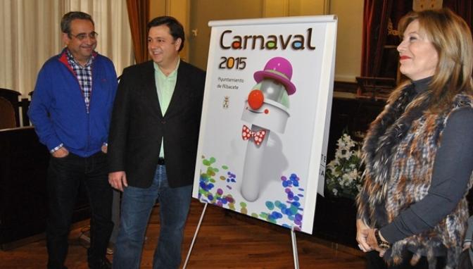 'El Depósito de Agua se va de Carnaval', de José Luis Torrente, será el cartel anunciador de los carnavales de Albacete