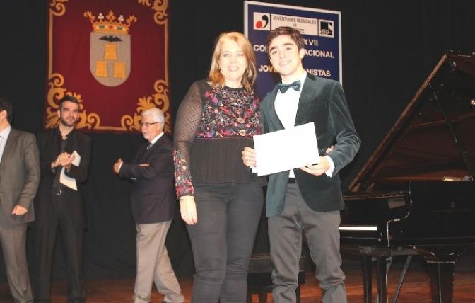 Pedro López Salas, ganador del Concurso Nacional de Jóvenes Pianistas 'Ciudad de Albacete'