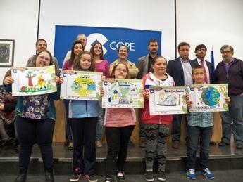 Celia Irene García fue la ganadora del XX Concurso de Dibujo Ecológico de Cadena COPE