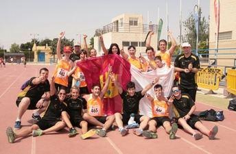 La selección de Fecam Castilla-La Mancha subió al pódium por séptimo año consecutivo