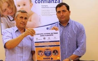 Nace en Albacete el Circuito Juvenil de Tenis ASISA, dirigido a jóvenes tenistas