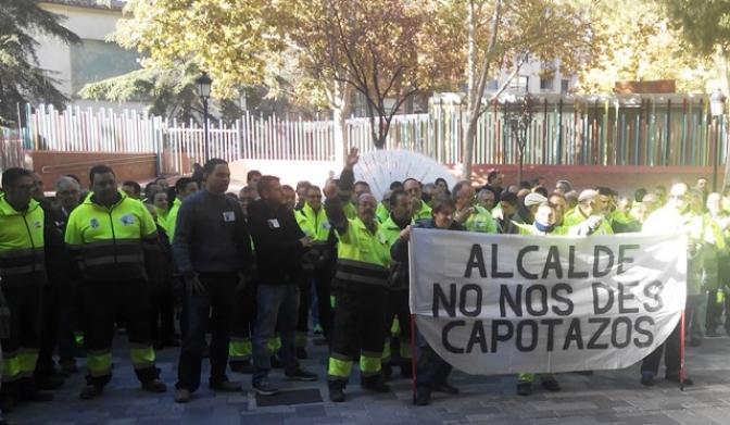 El alcalde de Albacete sigue sin escuchar a los trabajadores y habrá huelga indefinida de limpeza y basura desde el 14 de diciembre