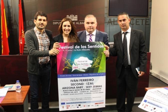 El Festival de los Sentidos de La Roda tiene una nueva cita con la música, gastronomía y muestra de vinos, del 13 al 15 de junio