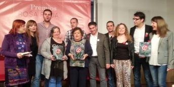 Juventudes Socialistas de Castilla-La Mancha celebró en Albacete la entrega de los V Premios Rosa Roja