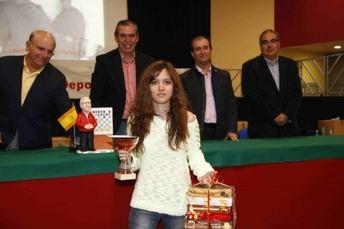 La rodense Ana Isabel González, campeona de España por equipos en el Nacional Universitario