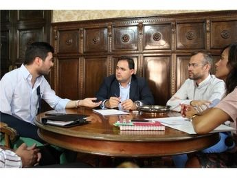 Francisco Núñez analiza nuevas vías de colaboración con la Asociación de Jóvenes Empresarios de Albacete