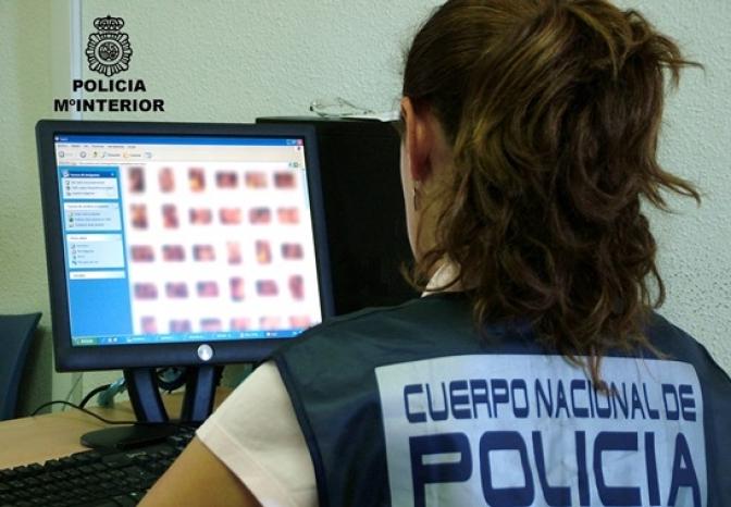 Detenidas cinco personas por compartir pornografía infantil a través de Twitter