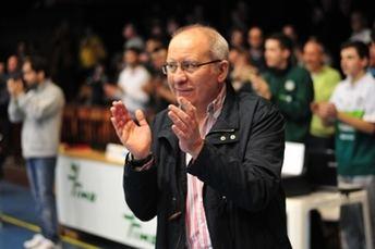 Esteban Sánchez, primer presidente del Albacete Basket, deja de ser máximo responsable del club
