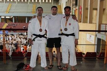 El Fujiyama de Albacete logró dos medallas de bronce en el Campeonato de España de veteranos