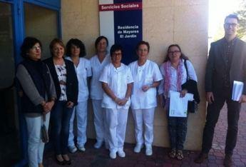 Montealegre acoge las prácticas del curso de sociosanitario para mujeres desempleadas del medio rural