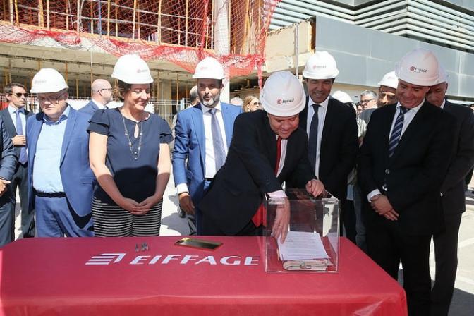 Eiffage comienza las obras de lo que será su sede española, en Albacete