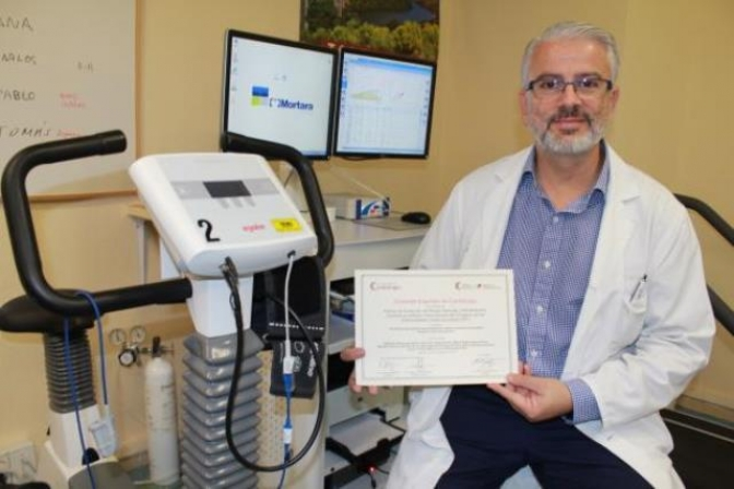 Un médico del Hospital de Toledo es premiado por su trabajo sobre rehabilitación cardiaca
