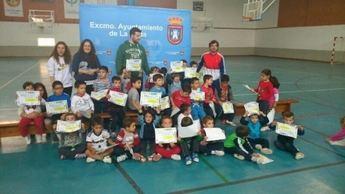 En 2014 este programa deportivo 'Primer Toque' dirigido a los más pequeños cumplió su octava edición en La Roda