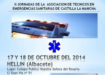 Jornadas Formativas de Emergencias los días 17 y 18 de octubre en Hellín