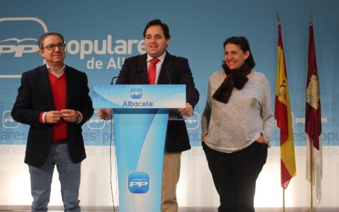 """El PP de Albacete critica el excesivo endeudamiento del """"bipartito Page-Podemos"""" y augura """"nuevos recortes para 2018"""""""