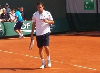 Guillermo García-López cayó en octavos de final de Roland Garros con el francés Gael Monfils