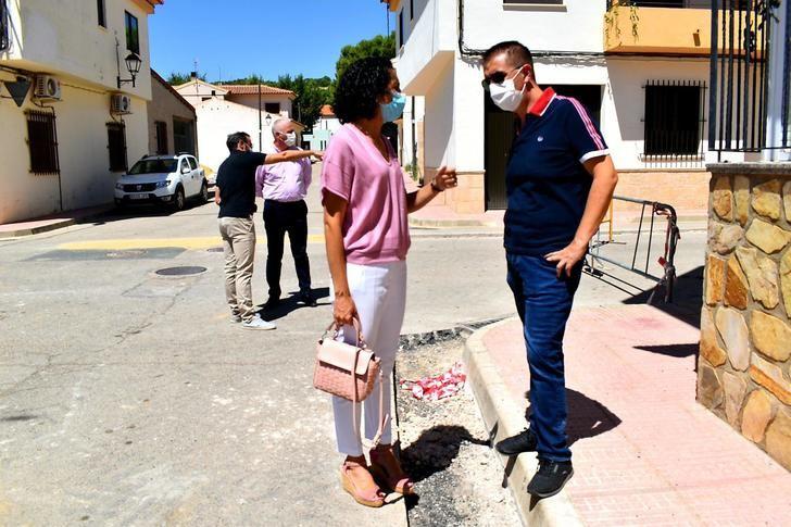 Arreglo de calles en Higueruela (Albacete) para evitar inundaciones, con una inversión de 60.000 euros de la Diputación