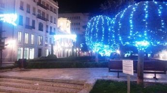 Albacete ya tiene sus luces de Navidad encendidas