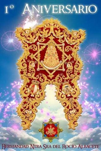 El miércoles 4 de febrero se celebra el primer aniversario de la Hermandad Nuestra Señora del Rocío de Albacete