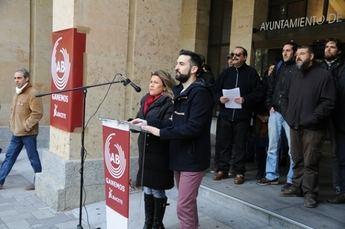 Ganemos Albacete muestra su apoyo a la manifestación convocada por las marchas de la dignidad contra la 'ley mordaza'