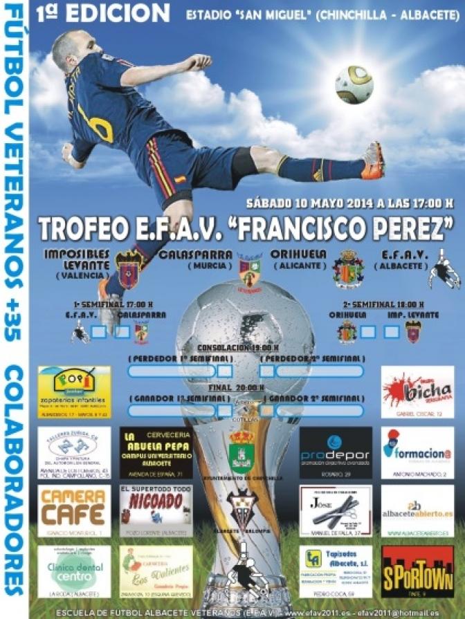 La Escuela de Fútbol Albacete Veteranos organiza el sábado un homenaje a Francisco Pérez