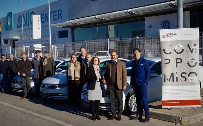 Eiffage Energía renueva su flota de vehículos con Volkswagen